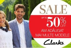 Renumitul brand britanic, Clarks, anunta reduceri de pana la 50% la colectia primavara/vara 2014