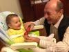 Nepoata lui Traian Basescu implineste astazi un an! Vezi cat de mult a crescut Sofia Anais - FOTO