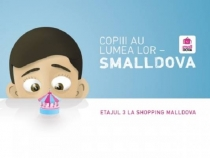 Tu faci shopping, ei se joaca! Cele mai tari distractii pentru copiii tai, doar la SmallDova - VIDEO