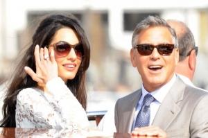 George Clooney si Amal, prima iesire ca sot si sotie! Ce rochie superba a purtat frumoasa bruneta - FOTO