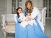 Ksenia Borodina si fiica sa, intr-un catalog de moda. Vezi cum arata cele doua in tinute asortate - FOTO