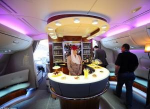 Zboruri in clasa de lux. Cum se odihnesc VIP-urile in avioane - FOTO