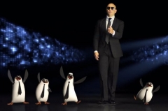 "Pitbull danseaza cu Pinguinii din Madagascar in cel mai nou clip al sau - ""Celebrate"""