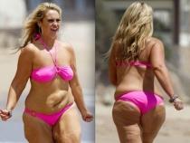 Se rusina de aparitia ei la plaja. Acum arata senzational - FOTO