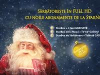 (P) StarNet anunta oferta de Craciun: sarbatoreste Full HD!