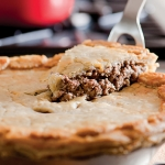 Tourtière, placinta traditionala canadiana de Craciun