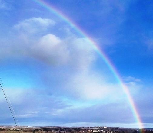 Как выглядит круглая радуга — National Geographic Россия