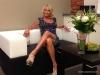 Anastasia Volochkova a uimit cu un gest neasteptat! Ce a facut ea, intr-o rochie scurta si tocuri