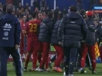 Scandal in Grupa Moldovei: Motivul pentru care meciul dintre Muntenegru si Rusia a fost abandonat