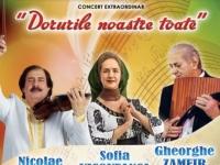 Romanii de pretutindeni, uniti intr-un concert de zile mari. De ce Nicolae Botgros a fost cu ochii in lacrimi - VIDEO
