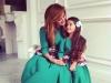 Ksenia Borodina si fiica ei, intr-o noua sedinta foto! Vezi cat de adorabile sunt - FOTO