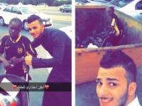 O fata din Arabia Saudita care traia pe strazi s-a imbogatit, dupa ce aceasta poza cu ea a fost postata pe Twitter. FOTO