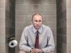 Liderii mondiali cum nu i-ai mai vazut! Putin, Merkel si Obama stand pe toaleta - FOTO