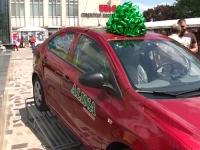 """(P) Inca un automobil a fost oferit de compania """"Alina Cosmetics"""" - VIDEO"""