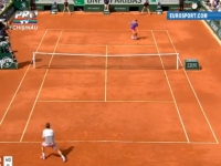 Roger Federer - eliminat de la Roland Garros. Ana Ivanovic, in semifinalele competitiei feminine - VIDEO