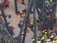 Ancheta dupa tragedia din parcul de distractii englez. Un ranit si-a pierdut piciorul dupa coliziunea vagoanelor din roller coaster