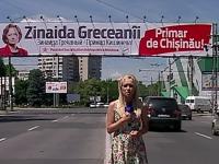 Batalia panourilor si spoturilor electorale: Greceanii vine cu noutati pentru turul II, Chirtoaca a preferat sa ramana cu cele de pana la 14 iunie - VIDEO