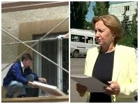 Unul pe schele, altul in fata gardului: Ultima saptamana de campanie a inceput in forta. Ce au promis candidatii - VIDEO