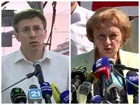 Parcursul lui Dorin Chirtoaca si a Zinaidei Greceanii in campania electorala pentru primaria Chisinau - VIDEO