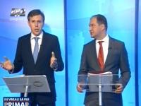 """Zinaida Greceanii a lipsit din nou la ultimele dezbateri organizate de Pro TV. Ion Ceban si Dorin Chirtoaca au polemizat la """"Eu vreau sa fiu primar"""" - VIDEO"""