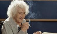 Cea mai longeviva femeie: a fumat pana la 117 ani si a mancat un kilogram de ciocolata pe saptamana