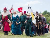 Epoca medievala, reinviata la Complexul Cultural Vatra! Vezi cele mai frumoase momente de la festival - VIDEO