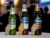 (P) Sarbatoare in familia companiei Efes Moldova. Compania a sarbatorit cele 3 medalii de aur cucerite de produsele sale - VIDEO
