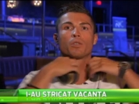 Cristiano Ronaldo, enervat la culme de americani! Intrebarea care l-a facut sa se ridice si sa plece de la interviu! VIDEO