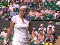 Tenismana din Cehia, campioana din 2014 de la Wimbledon cedeaza titlul: Petra Kvitova, eliminata de serboaica Jelene Jankovic
