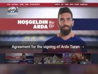 Arda Turan, pe Camp Nou! Mijlocasul turc a fost cumparat de FC Barcelona cu 34 de milioane de euro - VIDEO