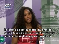 """SEMIFINALA de Foc: Serena Williams si Maria Sarapova se vor duela. """"Imi place sa joc cu Maria. Eu cred ca ea ma face sa dau ce e mai bun in mine"""" - VIDEO"""