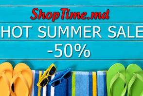 HOT SUMMER SALE  in magazinul ShopTime.md! Reduceri de pana la -50%!