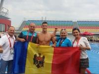 Aur pentru Moldova: Alexei Sancov a castigat cursa de 200 de metri, stil liber la Tbilisi. Ce tari s-au plasat pe locurile doi si trei - VIDEO
