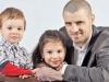 Pe Pavel Stratan si pe copii lui ii cunosti, dar iata cum arata sotia lui - FOTO