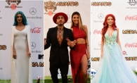 Green Carpet Fashion! Cum s-au imbracat vedetele din Romania la Media Music Awards