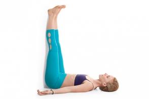 Scapa de stres! Pozitia de yoga care iti garanteaza relaxare totala - VIDEO