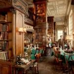 Un restaurant construit intr-o biblioteca este cel mai frumos loc in care poti lua cina! Cum arata acesta - FOTO