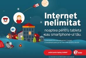 Internet nelimitat noaptea - gratuit!
