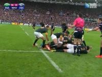 Africa de Sud a iesit invingatoare in fata Statelor Unite, la Campionatul Mondial de rugby - VIDEO
