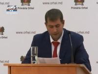 Ilan Shor si-a prezentat raportul pentru primele o suta de zile de activitate. Primarul Orheiului s-a plans de lipsa de bani in buget - VIDEO