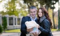 Democratul Sergiu Sirbu, intr-o poza emotionanta cu fiica sa! Cat de mult ii seamana micuta Amina - FOTO