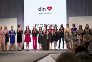 Colectia GRACEFULNESS, semnata de designerul Feodora Binzaru, a fost prezentata la Fashion Week Moldova - VIDEO