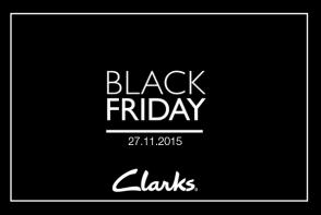 Pe 27 noiembrie va avea loc Black Friday la Clarks! Profita de reducerile de pana la -50% la TOATA colectia Toamna/Iarna 2015!