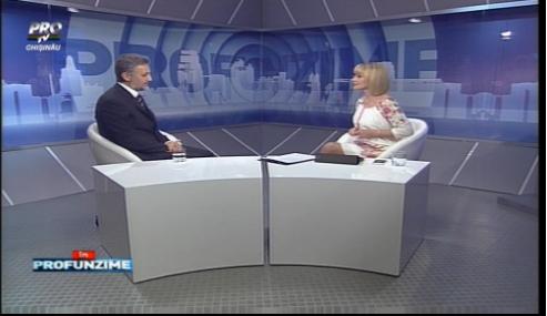 Emisiunea IN PROfunzime cu Lorena Bogza: Invitat: Marius Lazurca - 30.11.15