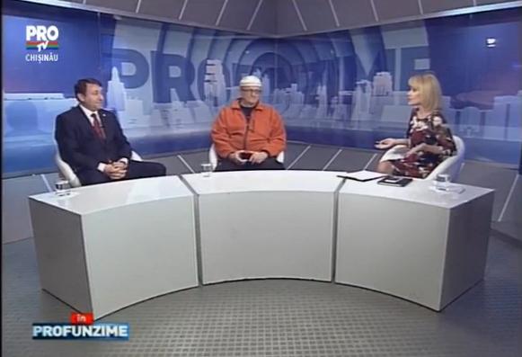 Emisiunea IN PROfunzime cu Lorena Bogza: Invitati: Vasile Botnaru si Igor Munteanu - 21.12.15