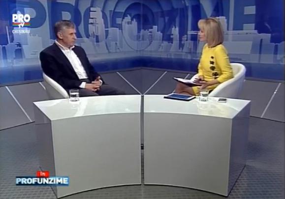 Emisiunea IN PROfunzime cu Lorena Bogza: Invitat: Ion Sturza - 04.01.2016