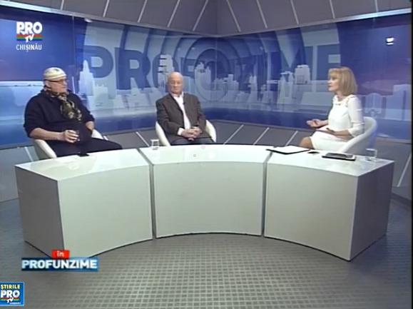 Emisiunea IN PROfunzime cu Lorena Bogza. Invitati: Vasile Botnaru si Oazu Nantoi - 18.01.2016
