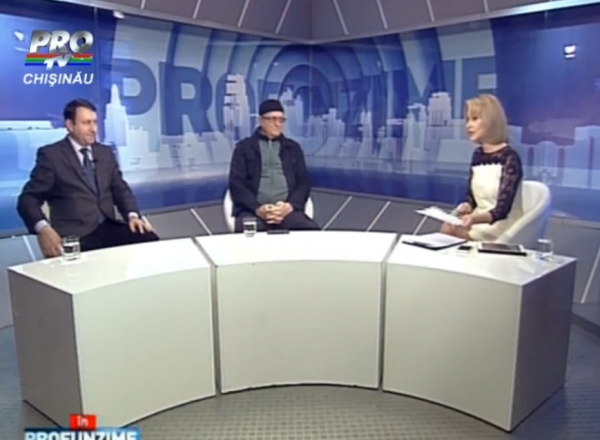 Emisiunea IN PROfunzime cu Lorena Bogza. Invitati: Vasile Botnaru si Igor Munteanu - 20.01.2016
