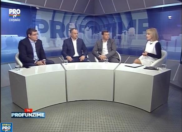 Emisiunea IN PROfunzime cu Lorena Bogza. Invitati: Andrei Nastase, Renato Usatii si Igor Dodon - 25.01.2016