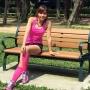 """Are 44 de ani si doi copii, dar pare cu 20 de ani mai tanara. Cum arata taiwaneza poreclita """"regina salii de fitness"""""""